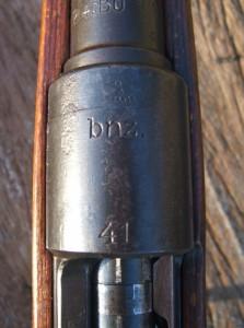 K98 Mauser f 541 020