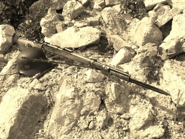 MauserK98 in Rubble 034