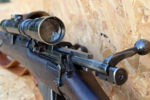 By Sword and Musket » 1915 SMLE by BSA with Aldis Bros 1916 scope