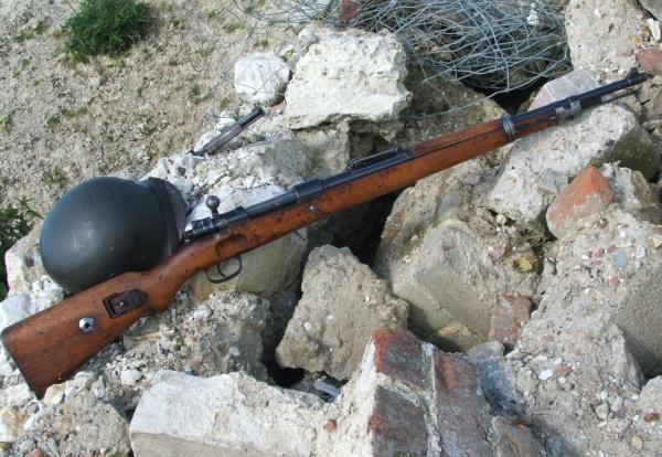 MauserK98 in Rubble 002