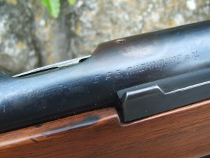 Mauser Trainer restored Cam 019