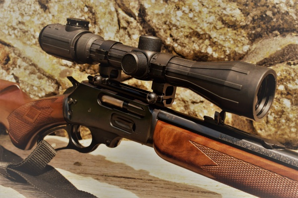By Sword and Musket » Superb JM marked Marlin 1895 Rifle